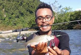 Teknik mancing masheer di sungai Aceh besar