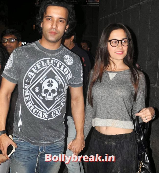 Aamir Ali and Sanjeeda Sheikh, Bollywood Celebs at Jai Ho Special Screening