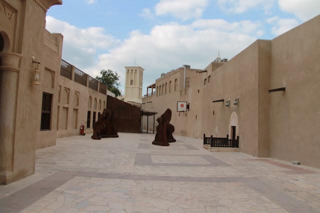 Madinat perinnekylä Bastakiya Bur Dubaissa