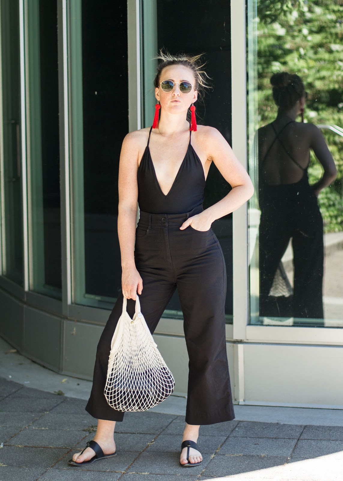 City to Beach - Summer style outfit - Vancouver Fashion Blogger - Forever 21 - Aritzia