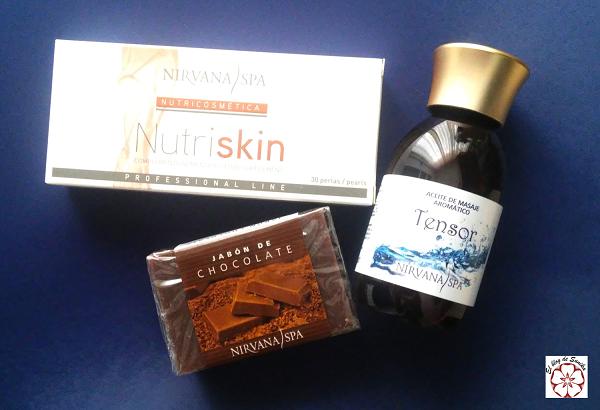 productos nirvana spa