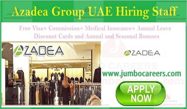 Retail jobs in UAE, Available UAE job vacancies,