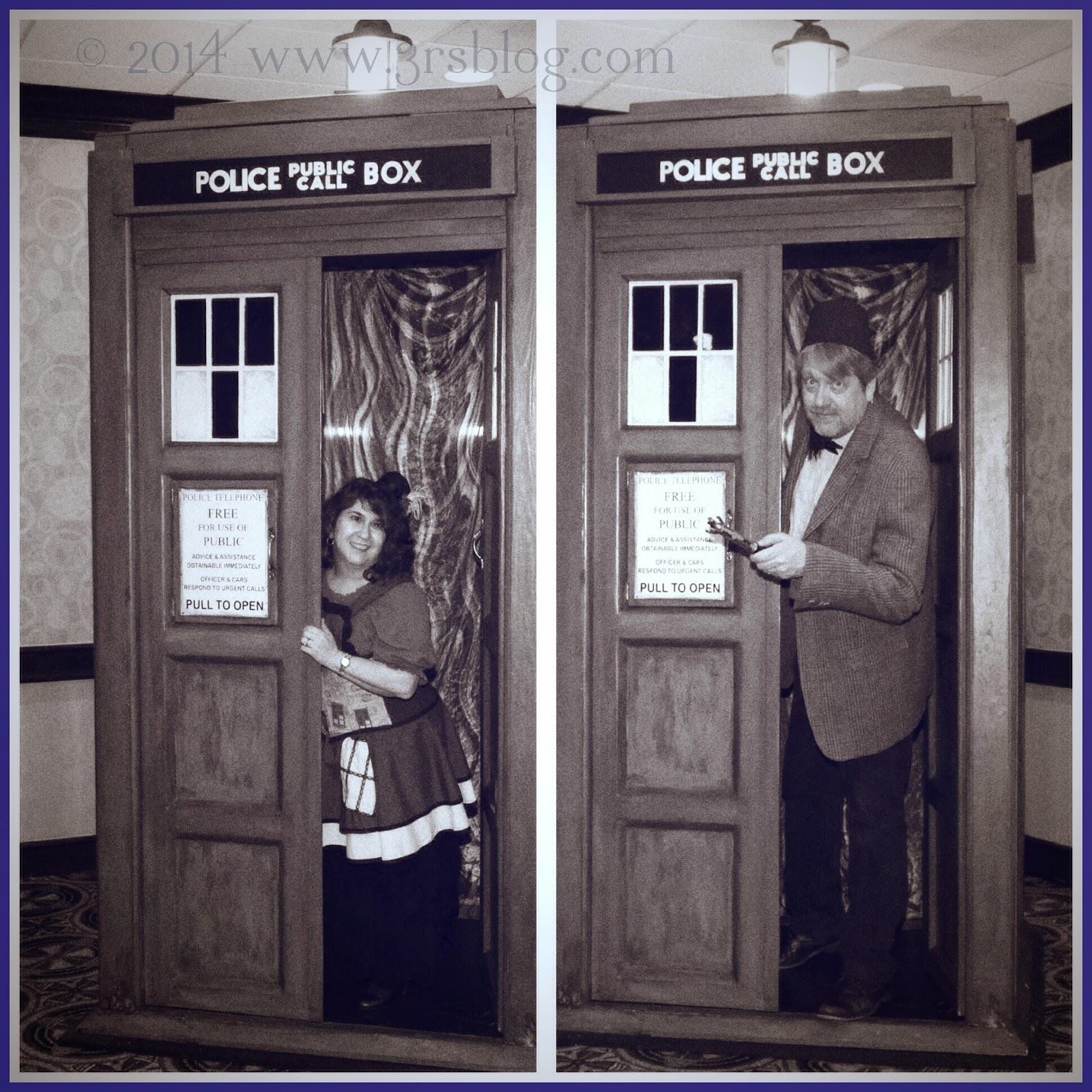 Florinda Paul TARDIS GallifreyOne 2014