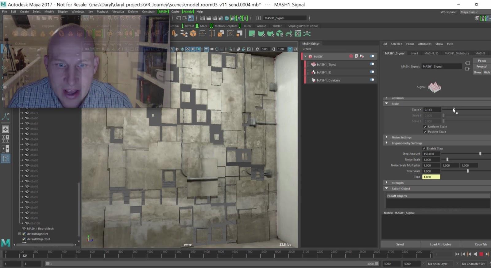 Animating with audio using Maya's Motion Graphics toolkit   CG ...