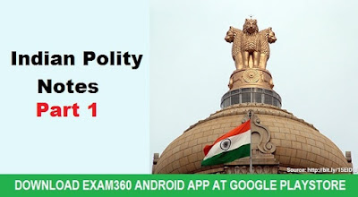 Indian Polity Study Notes for SSC Exams