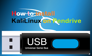install kali Linux on Pendrive@myteachworld.com