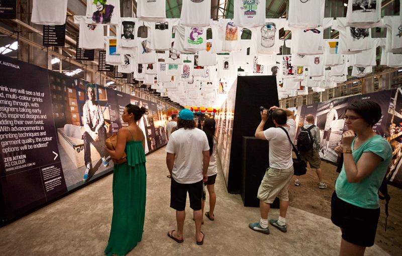 *來去Cockatoo Island看T-world的NEXT展:The future of T-shirt graphics 6