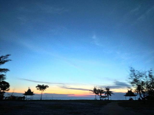 Pantai Tanjung Penghujan di Pangkalanbun