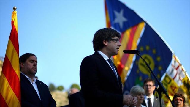 Presidente catalán responderá a la aplicación del artículo 155
