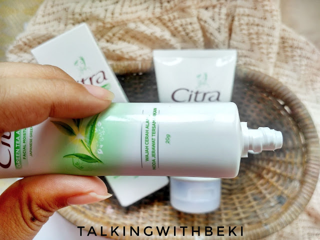 Review Citra Green Tea Anti Acne Moisturizer