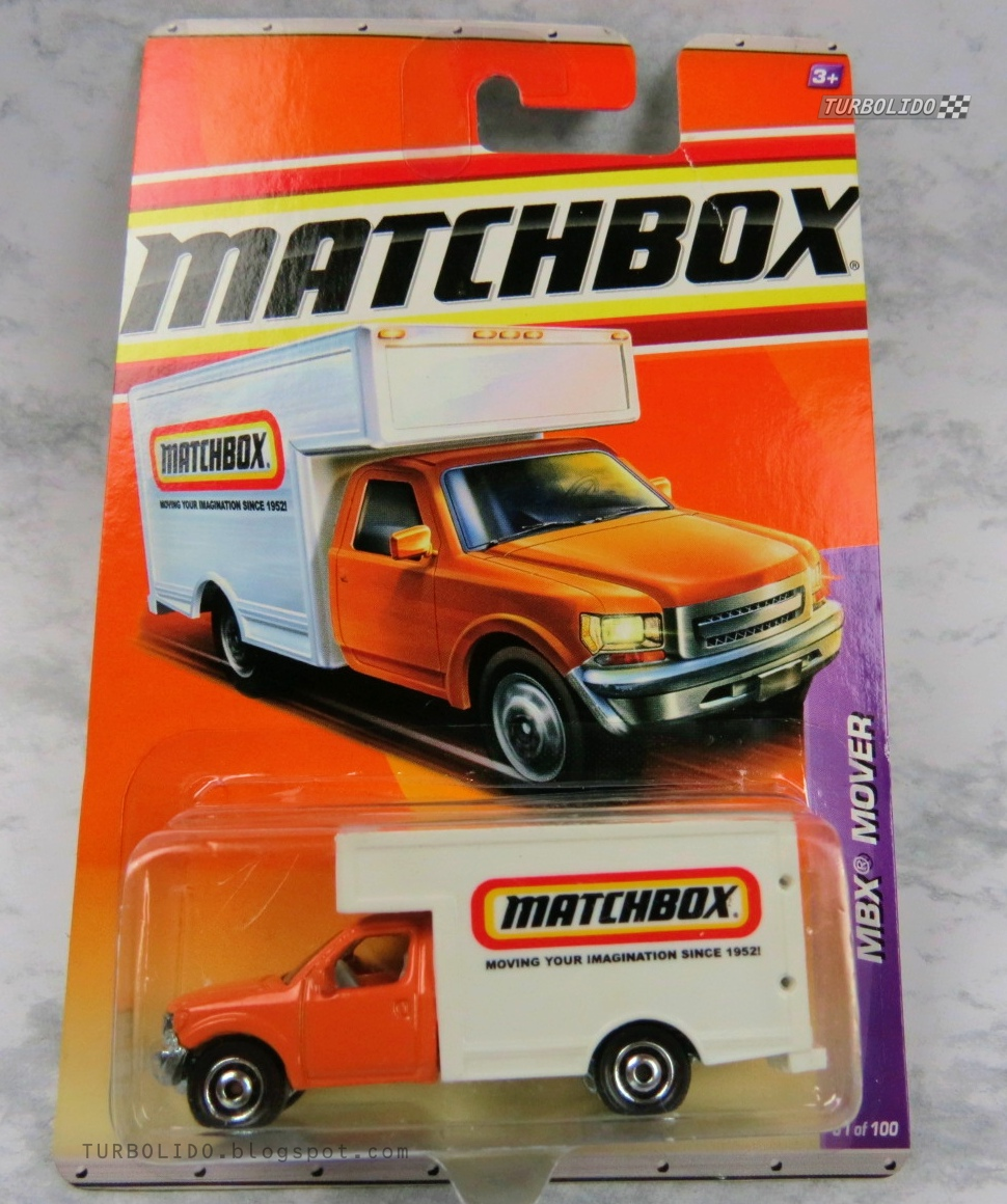 TURBOLIDO Cars: MATCHBOX MBX MOVER / MOVING TRUCK