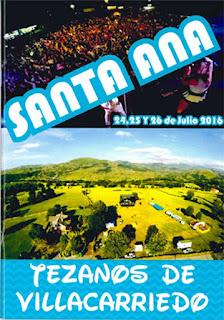 Santa Ana 2016 en Tezanos de Villacarriedo