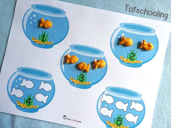Goldfish Crackers Math Amp Literacy Pack