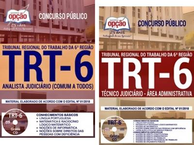 Apostila Concurso TRT-PE 2018 Técnico e Analista Judiciário