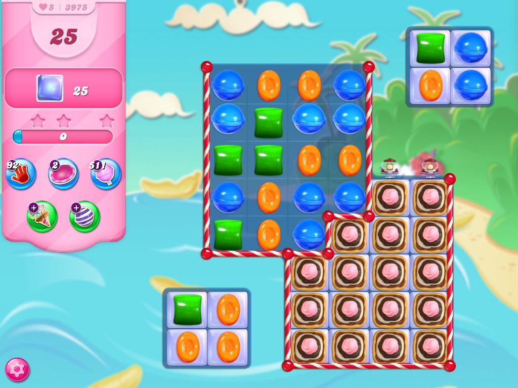 Candy Crush Saga level 3975