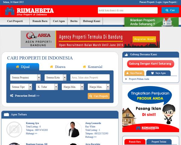 RumahBeta.com - Situs Properti Terdepan | Rumah, Tanah, Ruko, Apartment