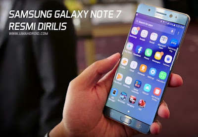 Harga Galaxy Note 7 di Indonesia