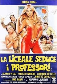 La liceale seduce i professori 1979