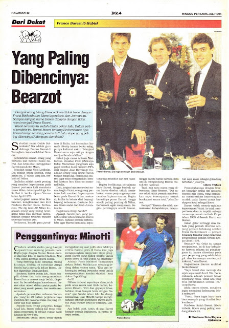 Football Legend Star Franco Baresi Profile
