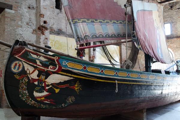 venise castello musée histoire navale pavillon navire bateau pêche