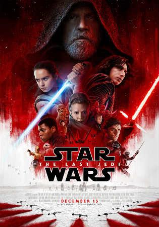 Star Wars The last Jedi 2017 HDTC 400MB Hindi Dual Audio 480p Watch Online Full Movie Download bolly4u