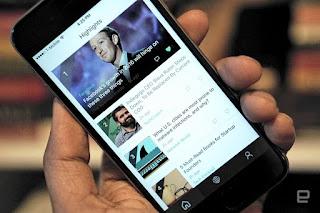 تطبيق من مايكرويوفت يجمع خلاصات الاخبار للمستخدمين