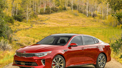 2016 All New Kia Optima Comvetible front view