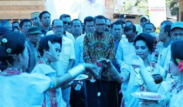 Setelah di Soppeng, Prof Andalan Juga Resmikan Posko Pemenangan di Wajo