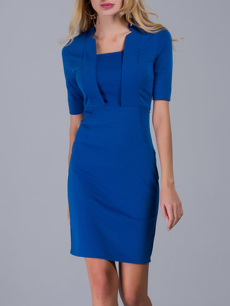 https://www.stylewe.com/product/blue-elegant-stand-collar-bodycon-midi-dress-97966.html