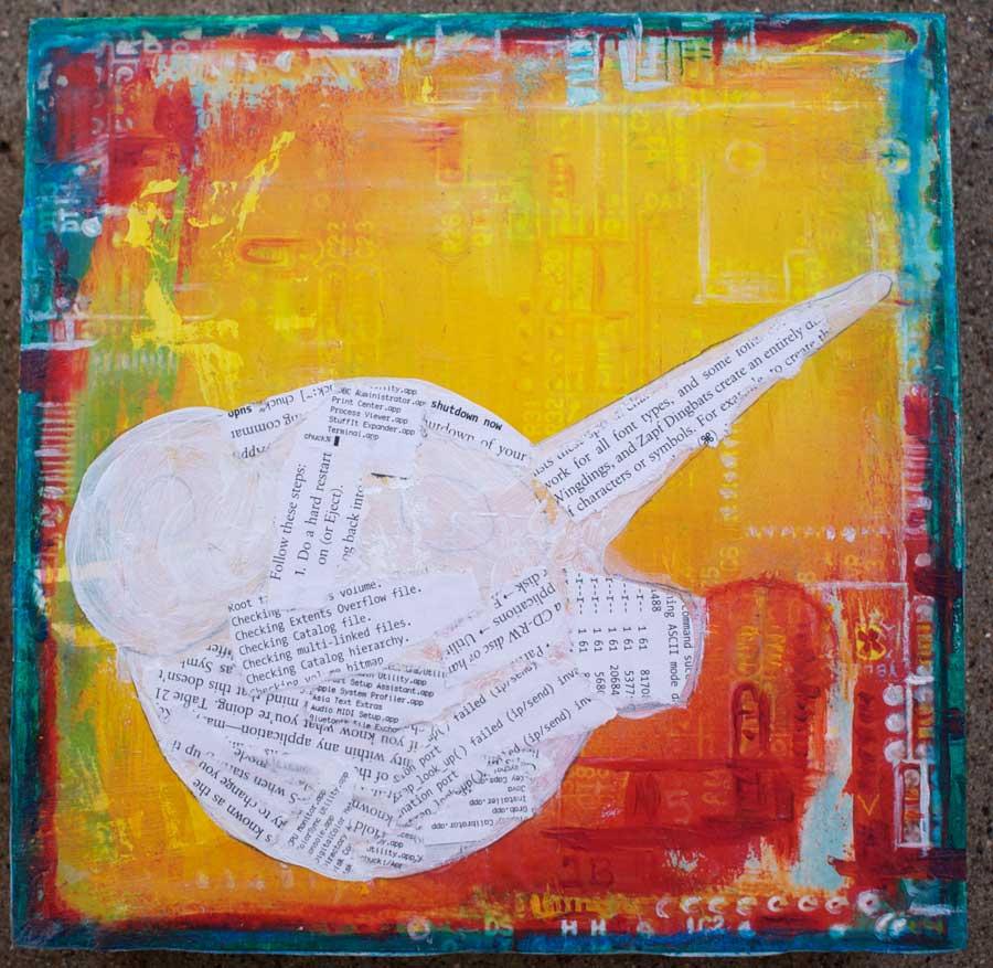 Mosaic Monday / Mixed Media stuff | Art Dog Blog