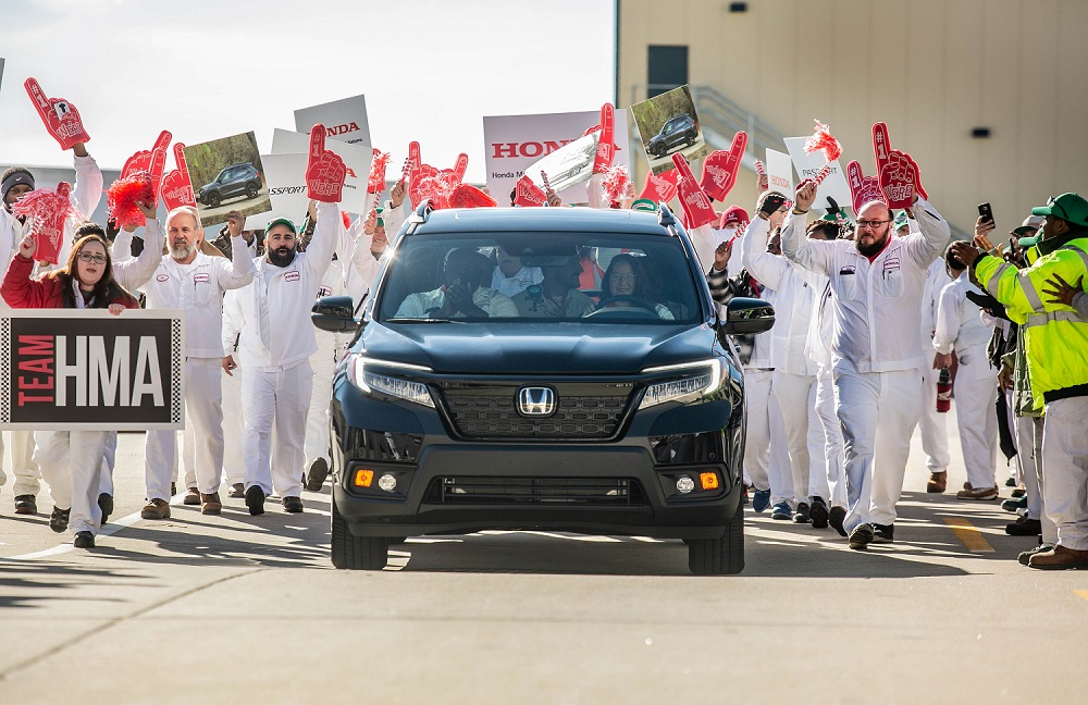 Honda begins production of 2019 Passport in Alabama