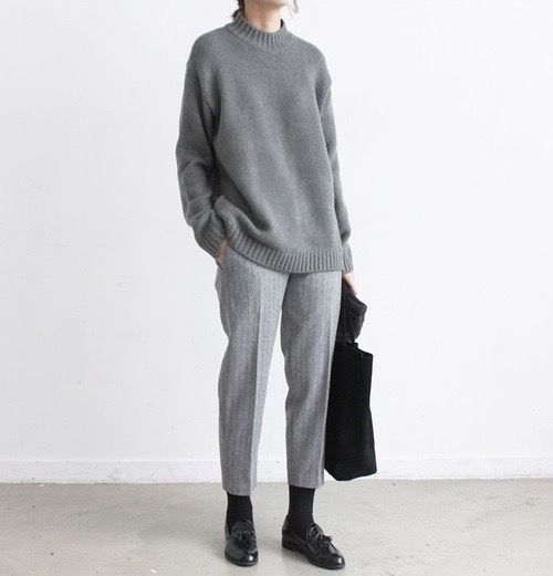 casual grey fashion