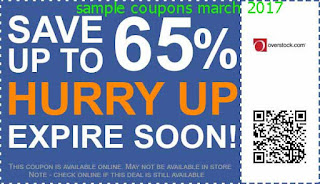 Overstock coupons march