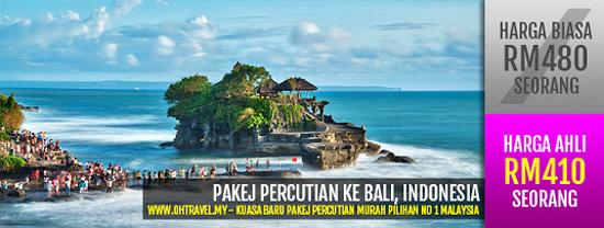 Pakej Cuti Bajet Bali
