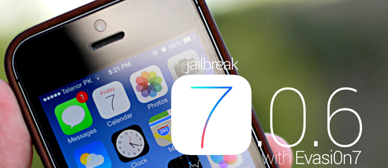 Jailbreak iOS 7.0.6 Firmware