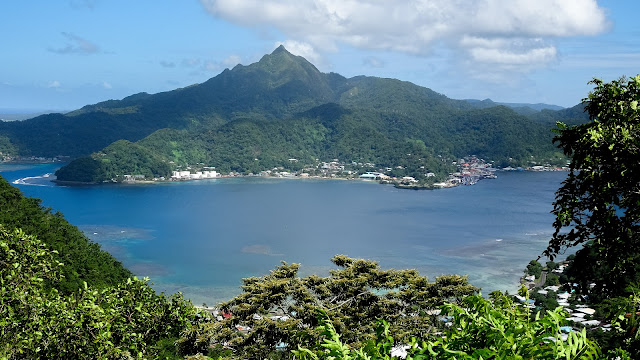 Viewpoint over Pago Pago harbor