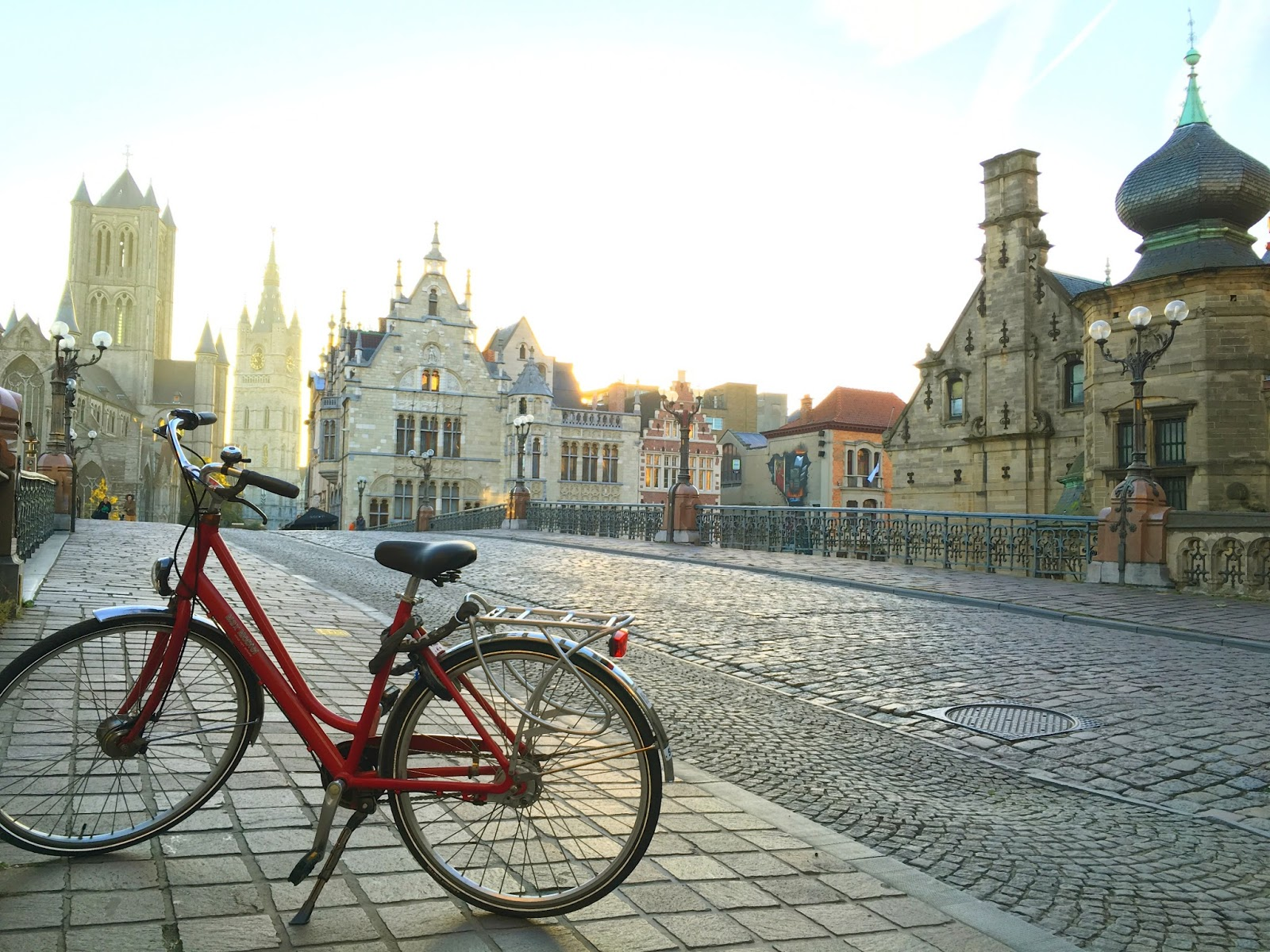 Le Chameau Bleu - Vélo à Gand - Séjour à Gand Belgique