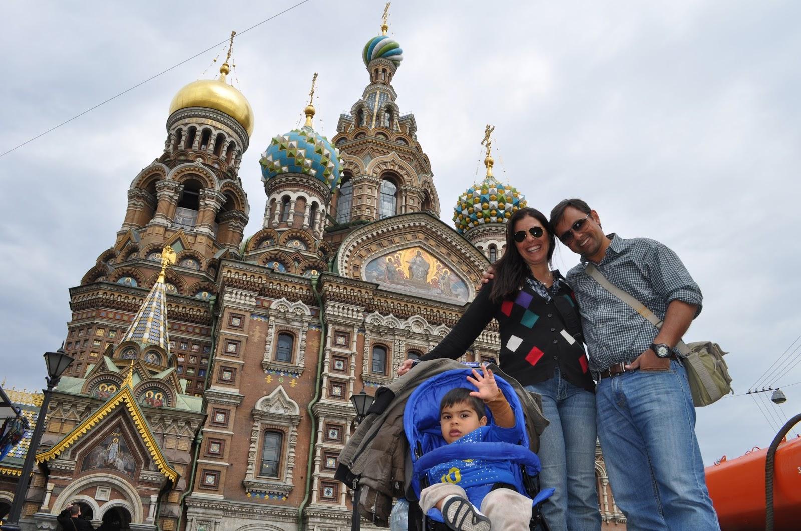 Viajando pela Rússia com crianças: São Petersburgo