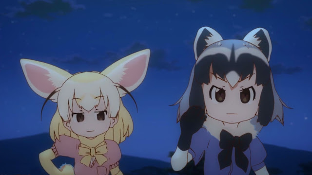 These two are chasing Kaban and Serval.