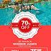 Promo WATERBOOM Jakarta Tiket Masuk Diskon 70% Di GATF 2016