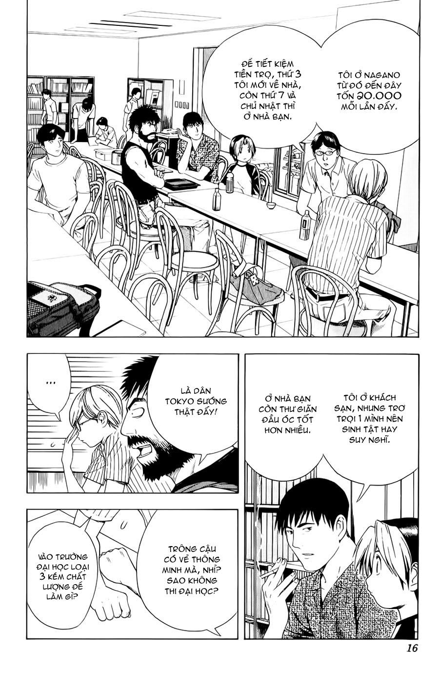Hikaru No Go hikaru no go chap 79 trang 11