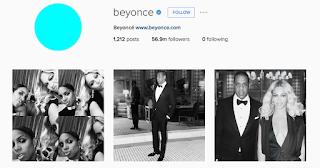 akun instagram Beyonce