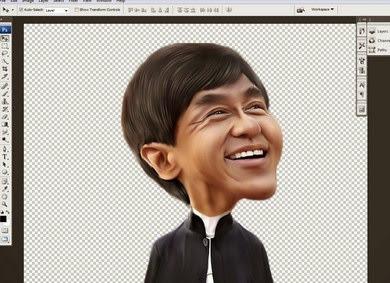Tutorial Cara Membuat Karikatur Dengan Photoshop Lengkap Dengan Gambar