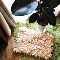 シャギーラグラグ shaggy rag rug