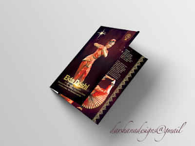 Darshanadesigns Arangetram Brochures Invitations Guest Signing Books