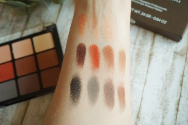 Viseart - Neutral Matte Eyeshadow Palette Swatches