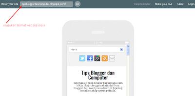 Cara Melihat Blog Responsive atau Tidak