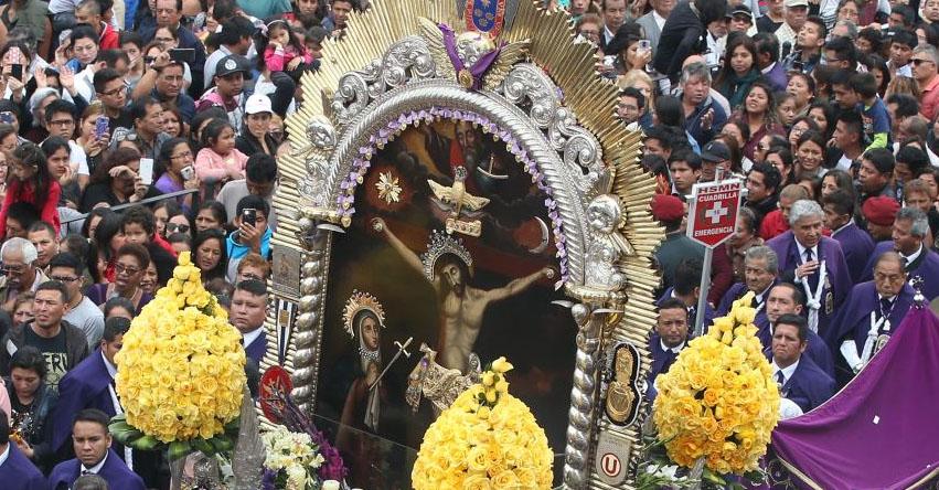 SEÑOR DE LOS MILAGROS: Conoce el Recorrido de la Procesión del Cristo de Pachacamilla - Cristo Moreno [Rutas, Fecha, Horario, Avenidas 2019] EN VIVO