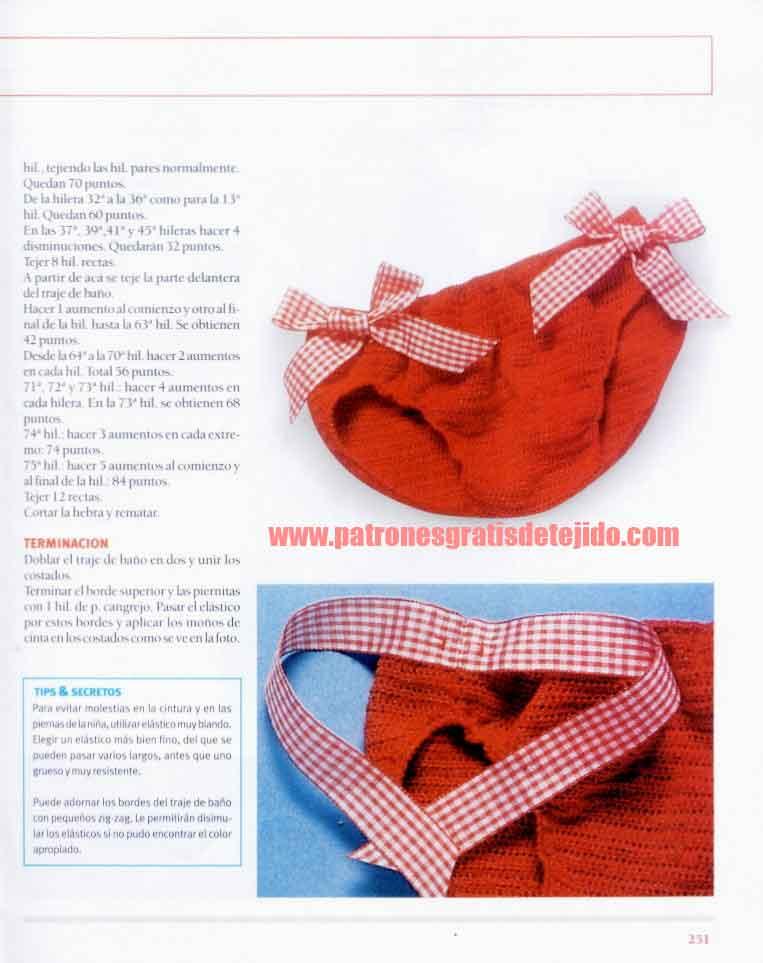 Braga para niñas al crochet