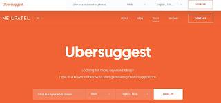 Cara Menggunakan Ubersuggest untuk Riset Keyword